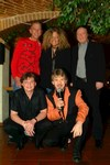 v. l. Tommy Lint, Mandy Kay, George McCoy,<br>vorne: Jan Hayston, Mike Dee